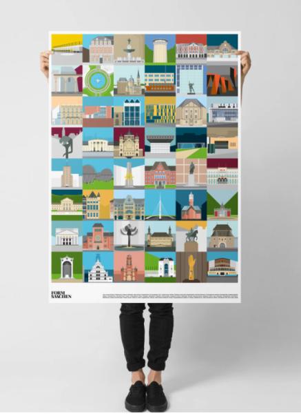 Formsaachen Aachen Poster