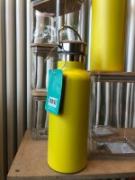 gelbe Thermoflasche