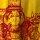 Unisex gelb/rot