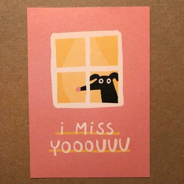 I miss yooouuu