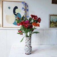 Ceramic Retro Vase klein