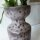 Ceramic retro Vase groß